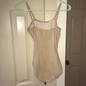 Women's small nude leotard